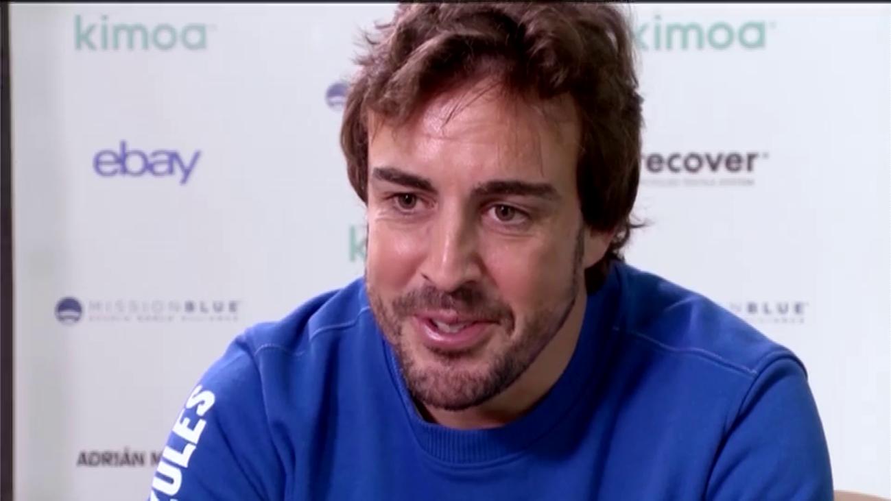 Fernando Alonso habla por primera vez de su vida privada