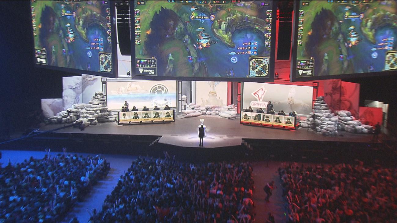 Los mundiales de League of Legends inundan Madrid