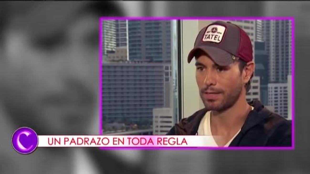 """Enrique Iglesias habla sobre su vida como padre: """"Ellos lo son todo"""""""