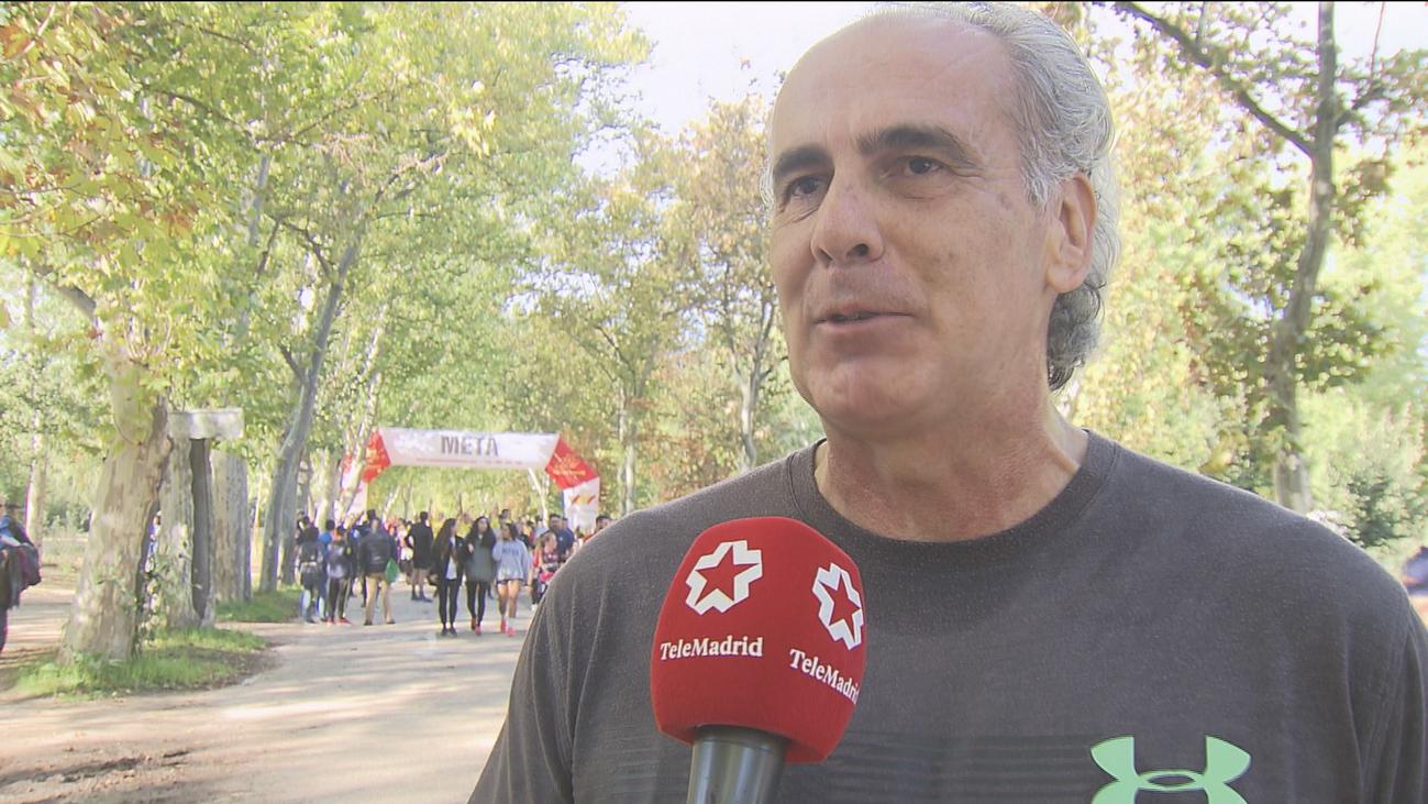 Cerca de 4.000 personas participan en la Carrera Cívico-Militar contra la droga