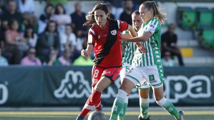 0-0. El Rayo Vallecano femenino arrebata un punto al Betis