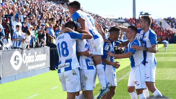 1-0. El Leganés estrena el casillero de victorias ante el Mallorca