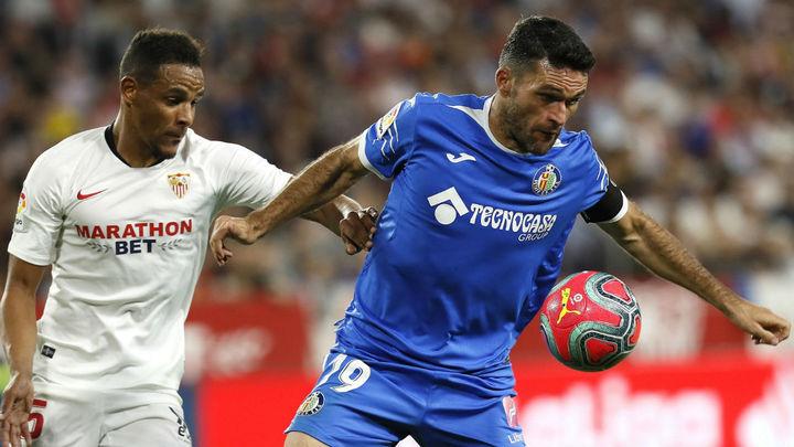 2-0. El Getafe, sin opciones ante el Sevilla