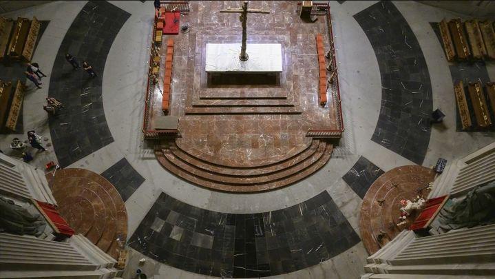 El Valle de los Caídos reabre este martes tras la exhumación de Franco