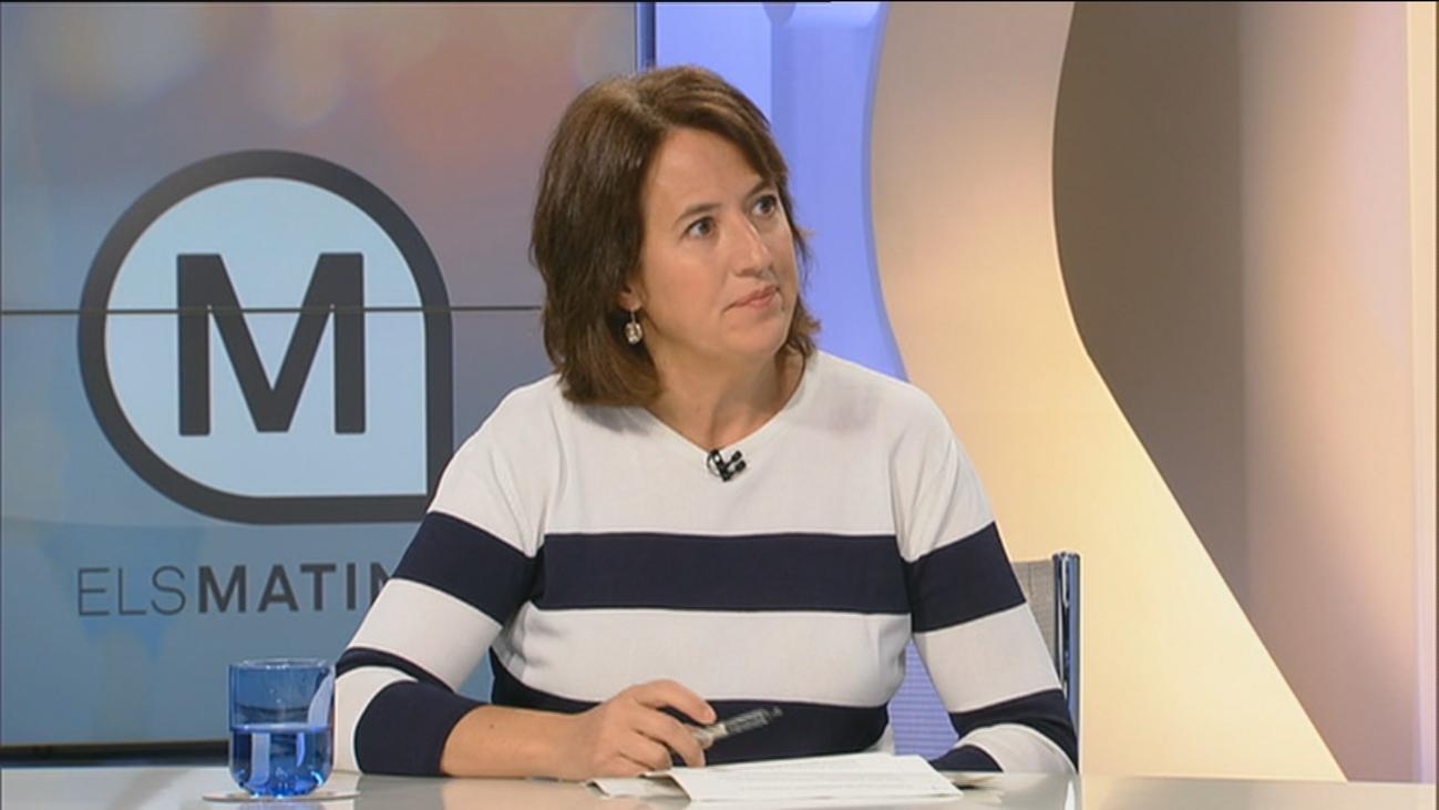 """Los altercados violentos """"hacen visible el conflicto"""" catalán, asegura la presidenta de la ANC"""