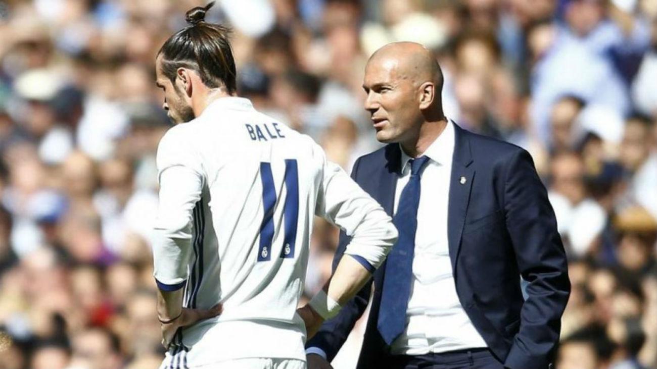Zidane descarta la salida de Bale