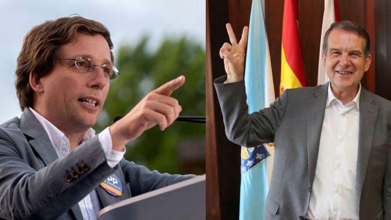 Martínez-Almeida y Abel Caballero
