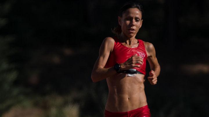 Azucena Díaz,  subcampeona de España de Medio Maratón