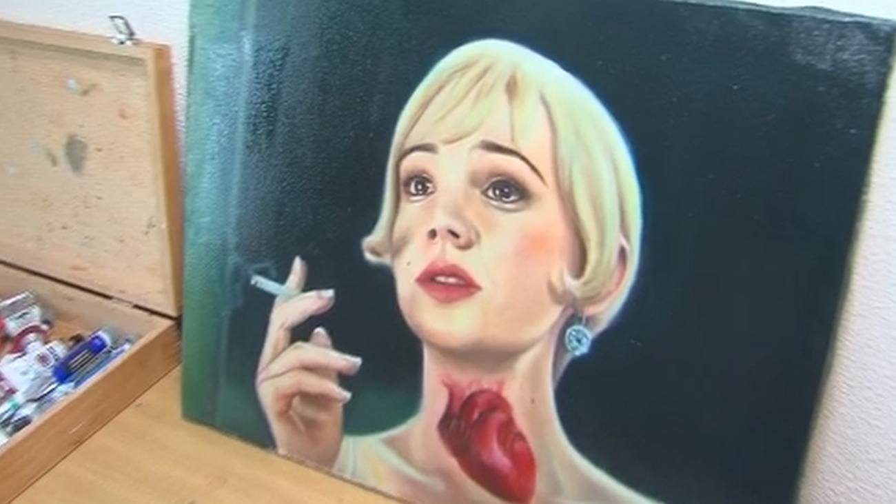 Nadia Benyahya, la pintora que desmitifica a las princesas Disney