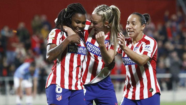 2-1. El Atlético femenino, a cuartos de la Champions