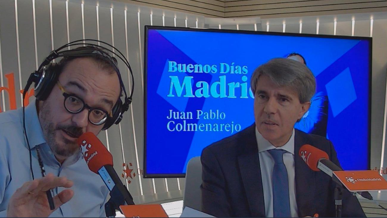 """Ángel Garrido: """"Que los madrileños sepan que lo que quiere el Gobierno central es subir los impuestos"""""""