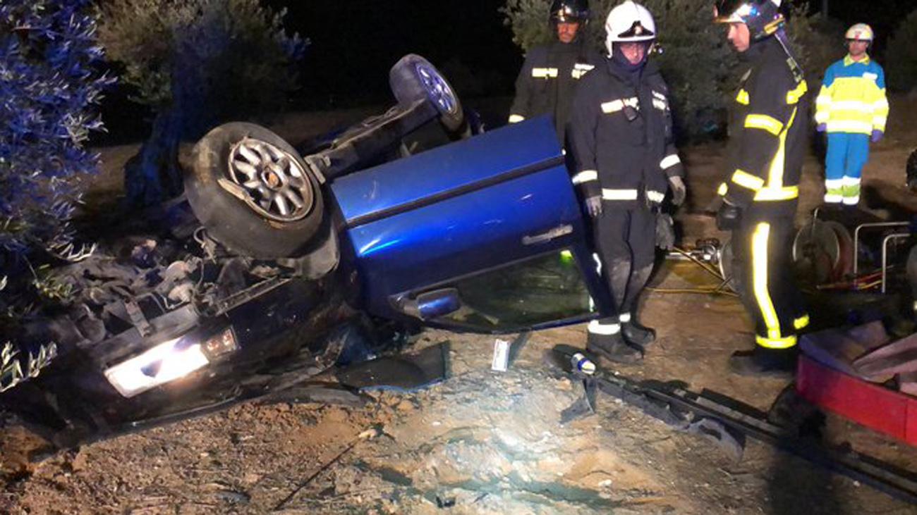Muere un hombre al chocar su vehículo contra un quitamiedos en Aranjuez