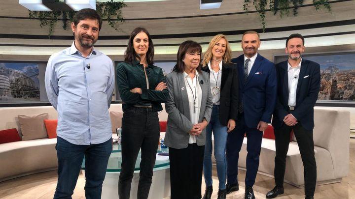 El primer café de la campaña electoral, este jueves en Telemadrid