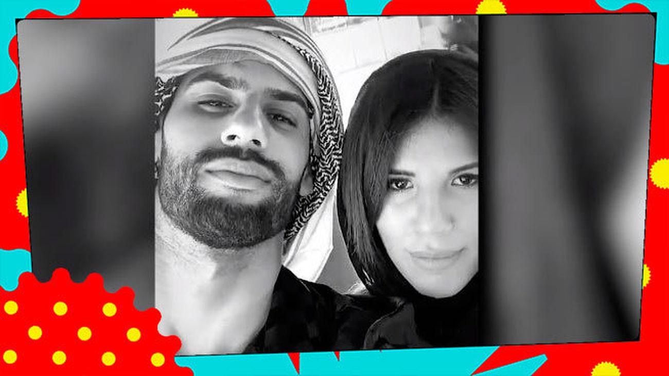 ¿Look o disfraz? Así se han vestido Isa Pi y Asraf Beno en su viaje por Arabia Saudí
