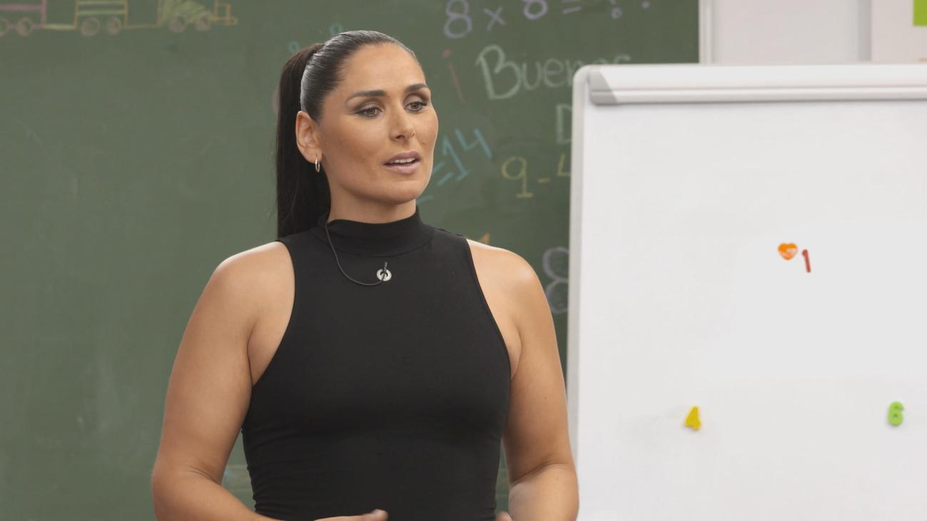 Rosa López tropieza con la asignatura de inglés