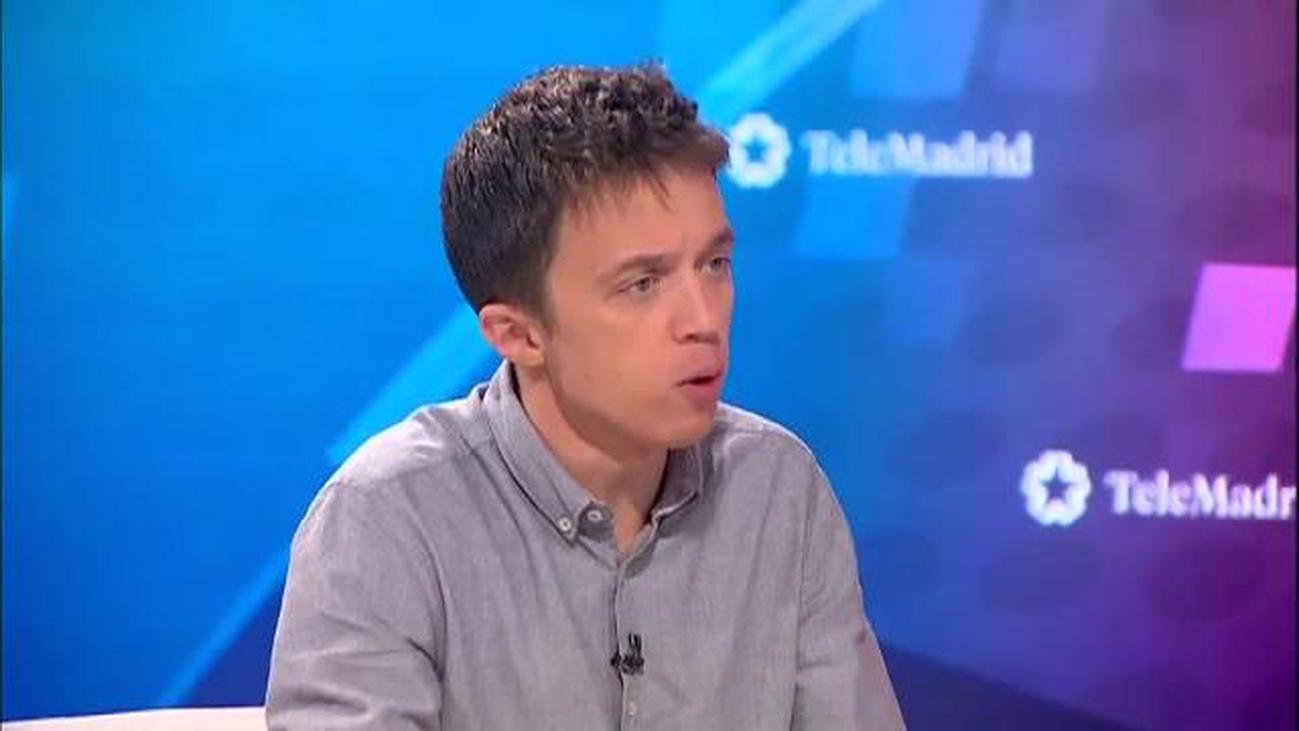 """""""España no puede volver a entrar en bucle"""", asegura Errejón"""