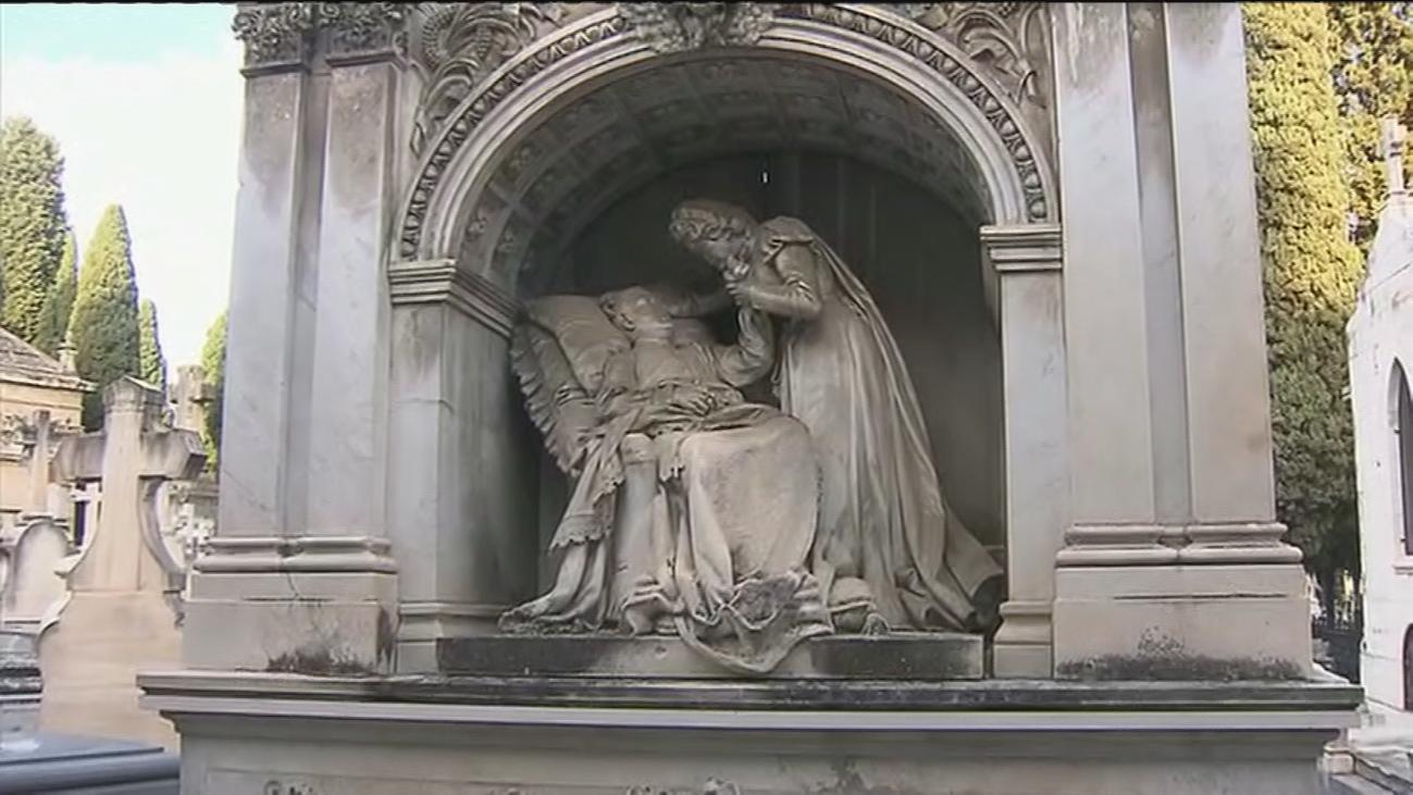 ¿Qué personajes ilustres reposan en el Cementerio Sacramental de San Justo?