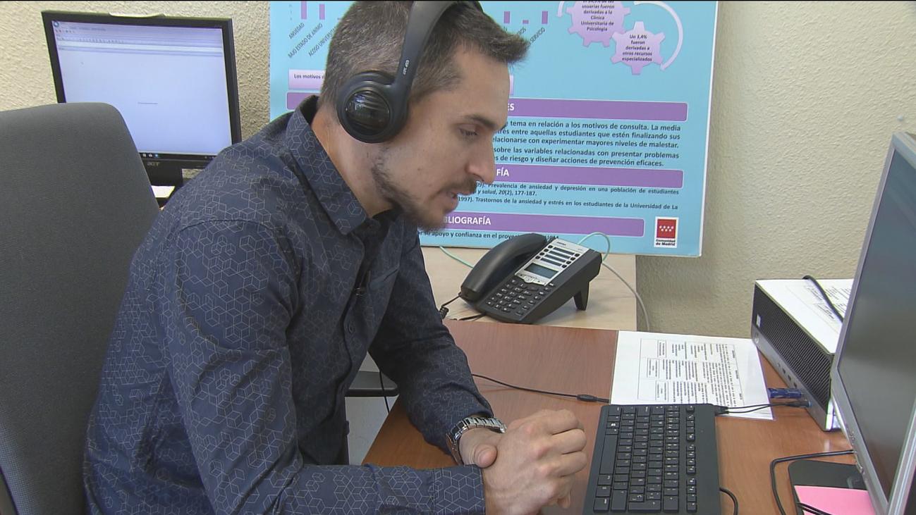 Psicall, un servicio de atención psicológica de la Complutense para sus estudiantes