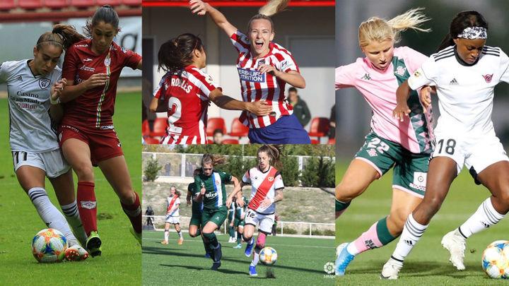 Victorias del Atlético y Rayo; empates del Tacón y Madrid CFF