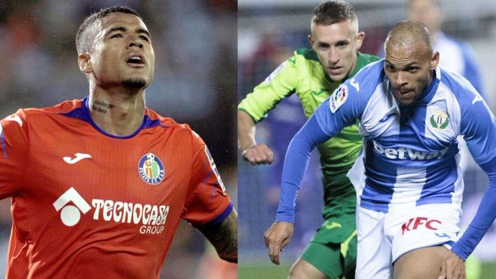 El Getafe gana al Celta (0-1) y el Leganés cae con el Eibar (1-2)