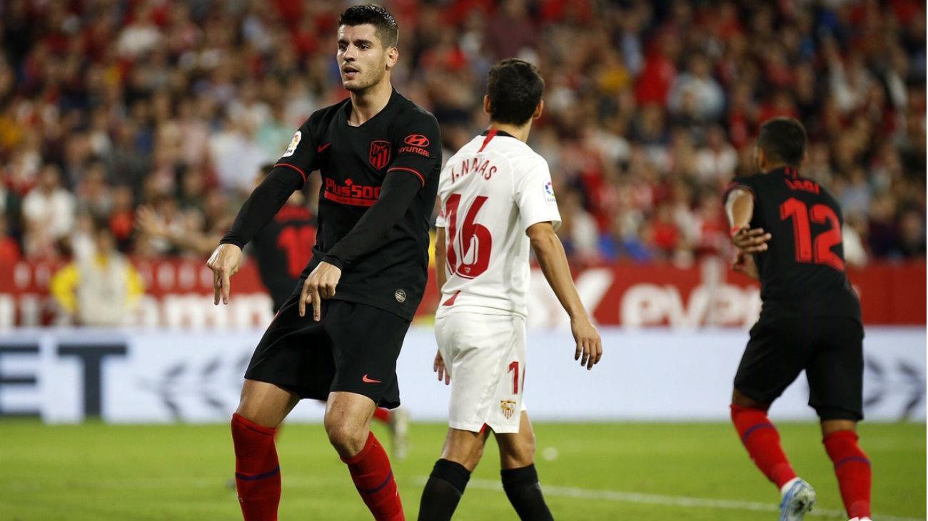 1-1. El Atlético desperdicia una gran oportunidad en Sevilla