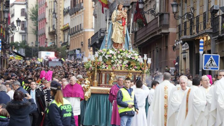 Cortes de tráfico por la procesión de la Almudena