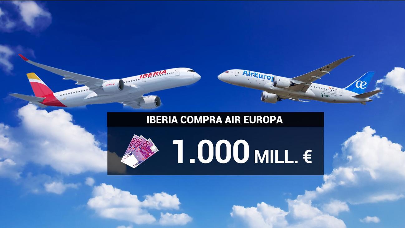 """Ayuso celebra la compra de Air Europa por Iberia porque """"va a reforzar"""" el aeropuerto de Barajas"""