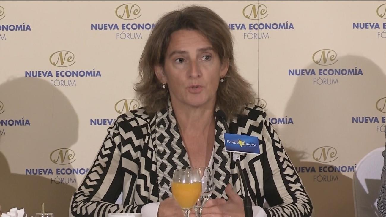 """Ribera reconoce el """"desafío"""" de celebrar la Cumbre del  Clima en Madrid"""