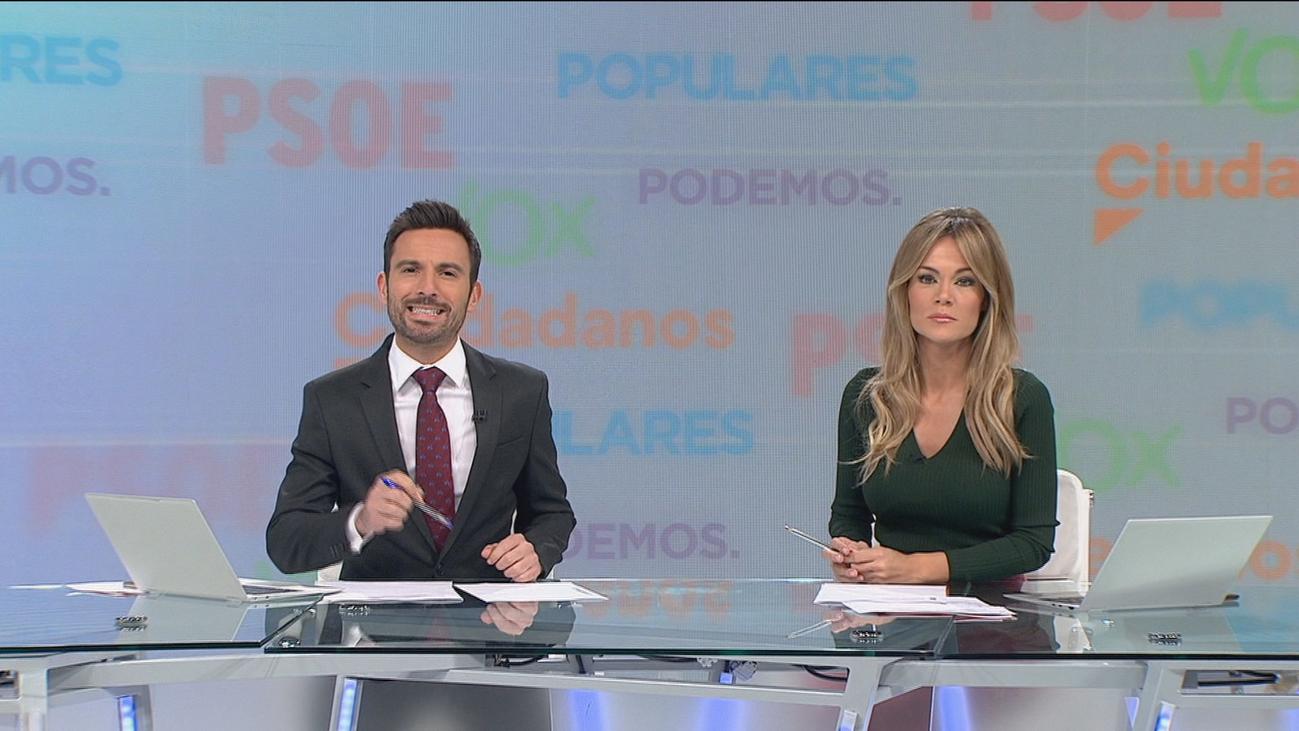 Cinco candidatos en un debate electoral histórico para el que Telemadrid realizará un gran despliegue