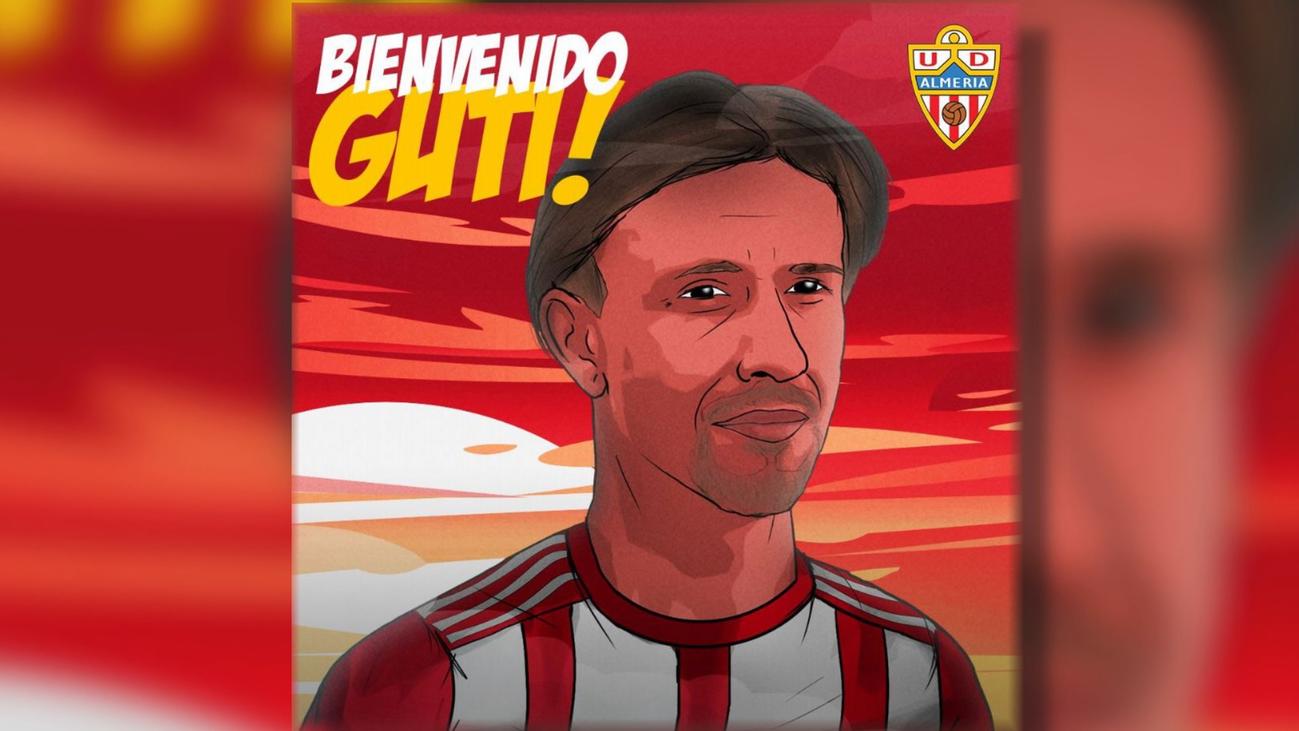 Guti, nuevo entrenador del Almería