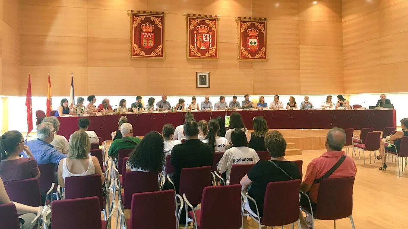 Pleno del Ayuntamiento de Tres Cantos