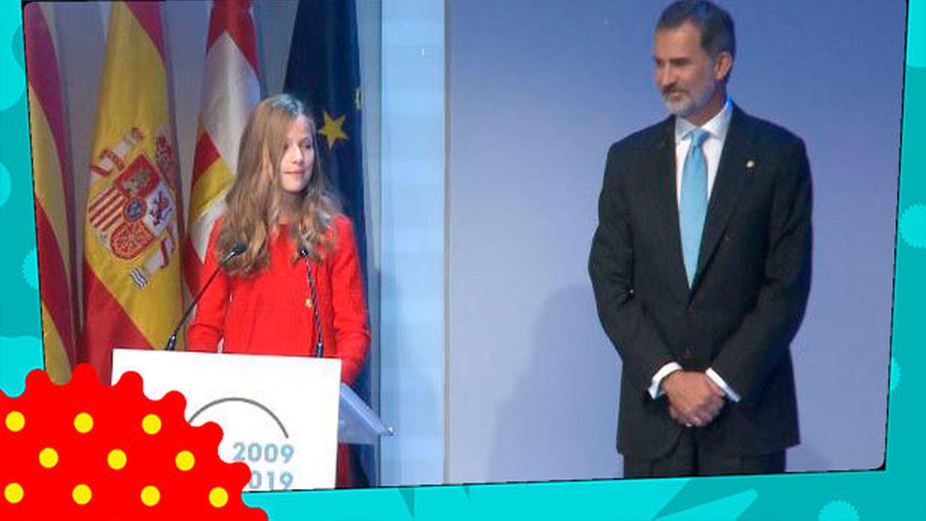 El árabe y el catalán, los otros idiomas que habla con soltura la Princesa Leonor