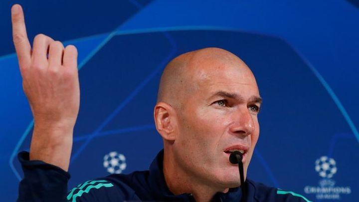 """Zidane: """"Quiero que Bale se quede aquí toda la temporada"""""""