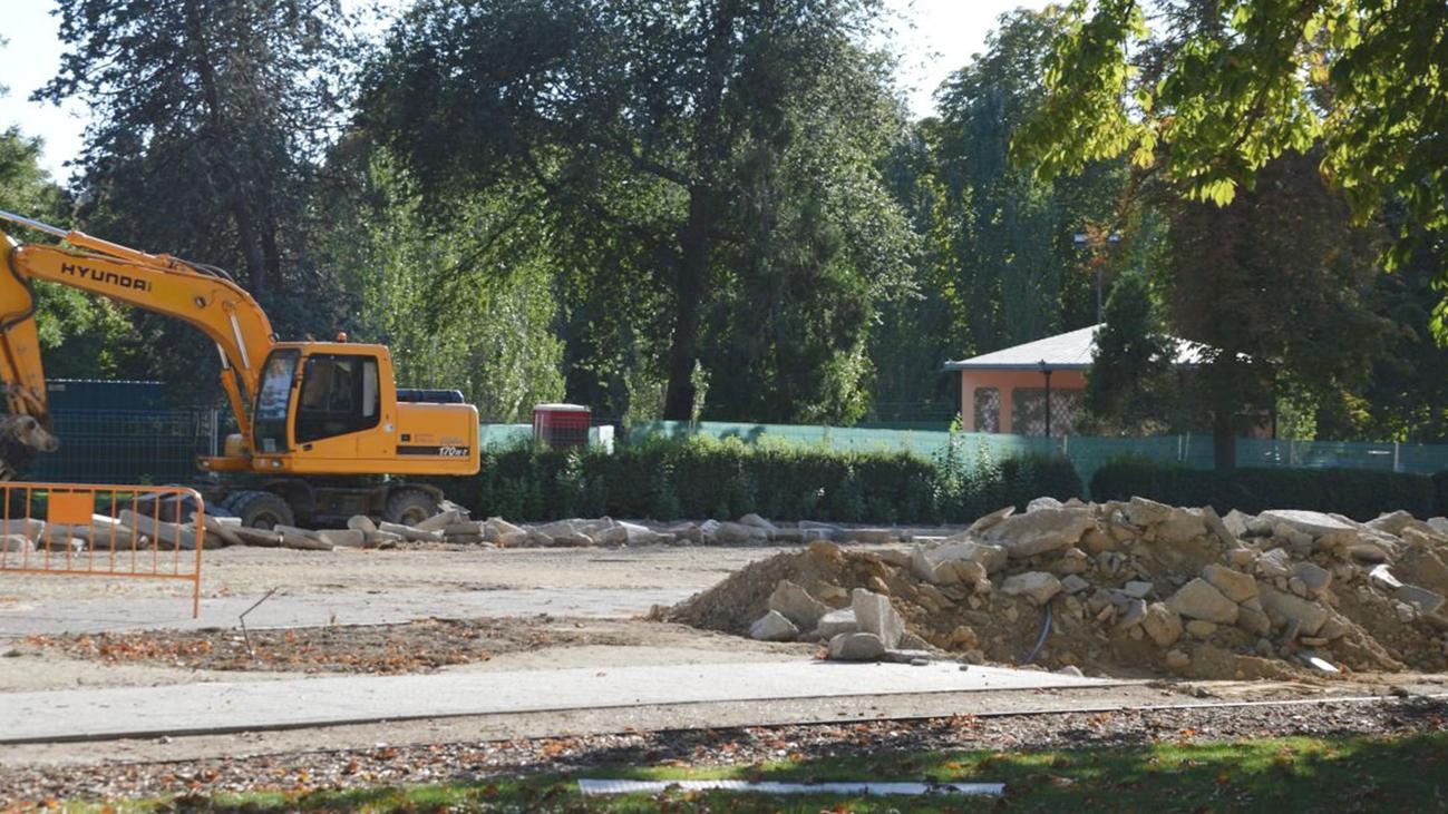 Las obras en El Retiro se retrasan al hallarse restos arqueológicos de los siglos XVI y XVII
