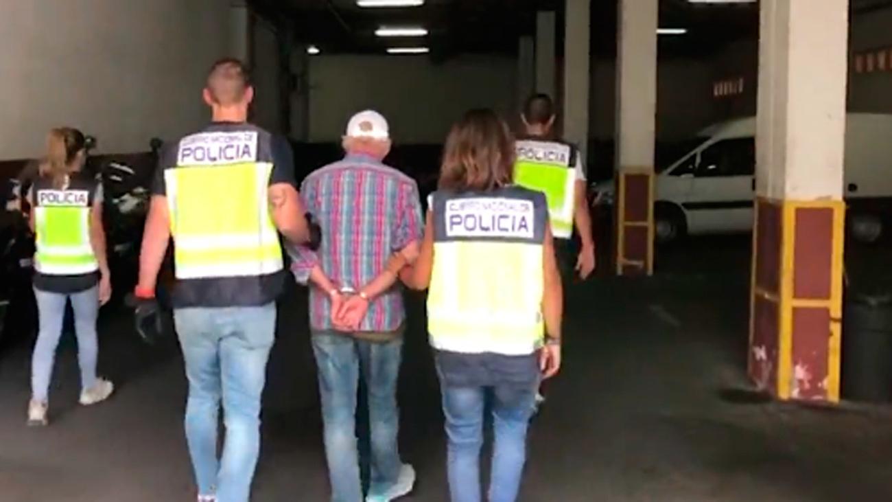 El detenido por amenazas constantes a representantes diplomáticos griegos en España