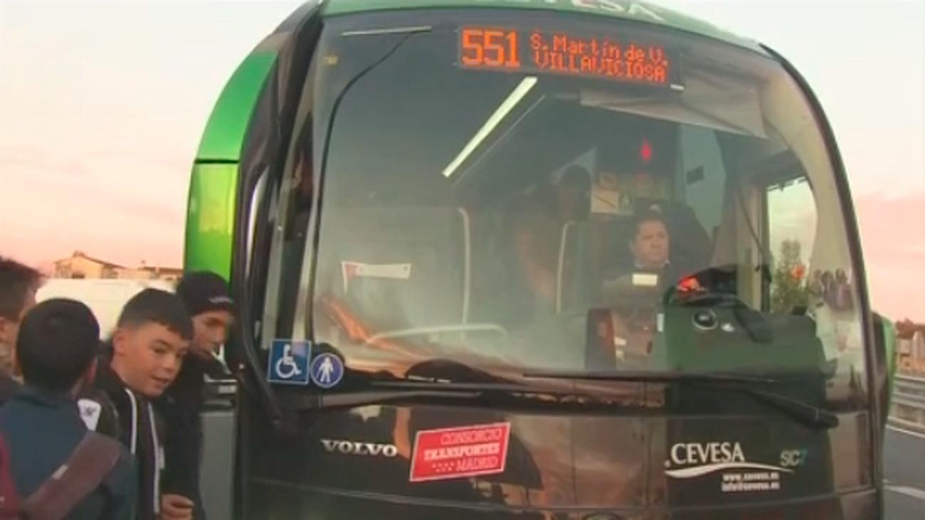 Indignación en Chapinería entre los viajeros de la línea 551 de autobuses