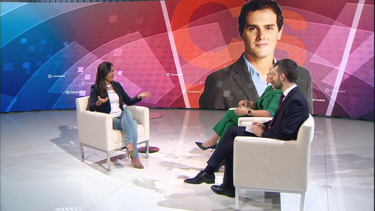 """Begoña Villacís: """"Ciudadanos es el único partido que ofrece una solución al bloqueo actual"""""""