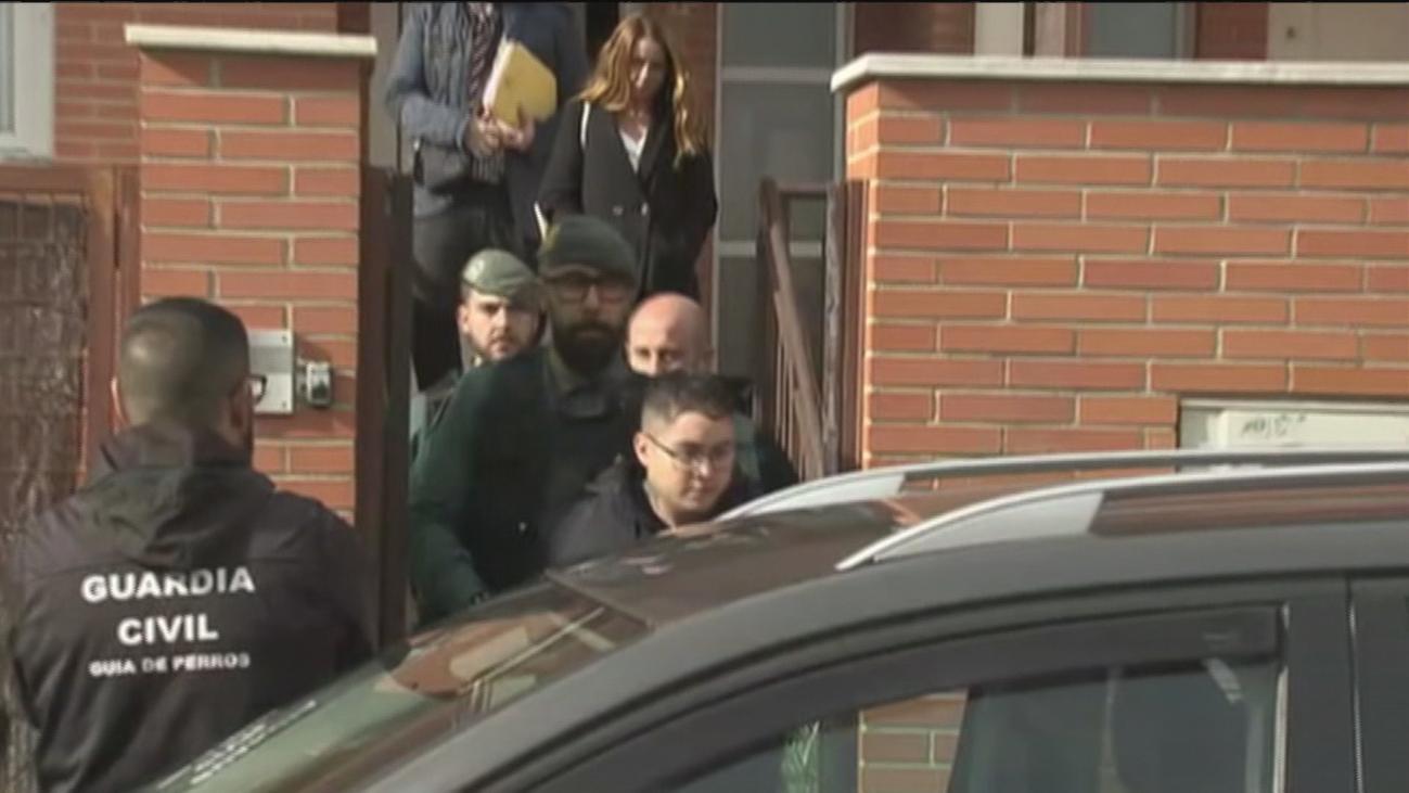 El descuartizador de Valdemoro vuelve a la 'casa de los horrores' en un registro policial