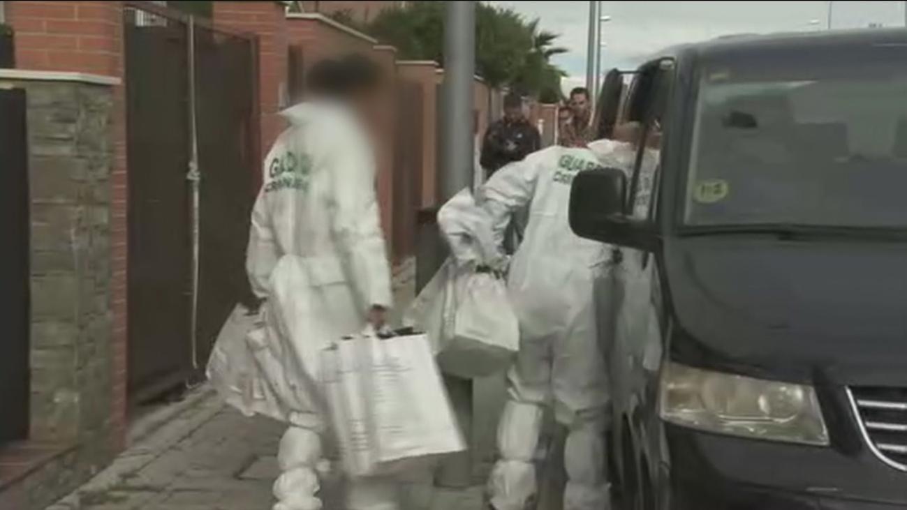 Retiran una gran cantidad de medicamentos de la casa del 'descuartizador de Valdemoro'