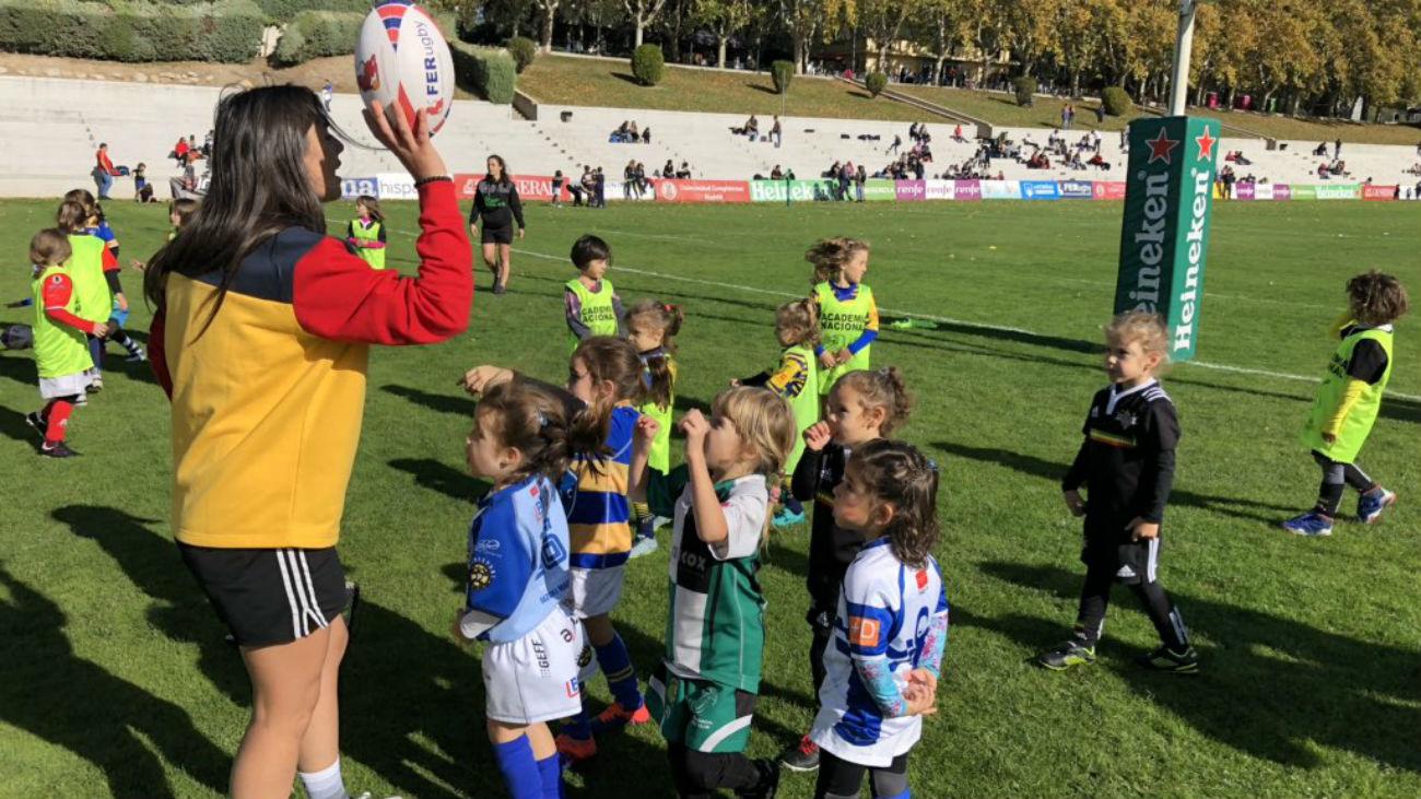 El 'Festival de Las Leonas' reúne al futuro del rugby femenino