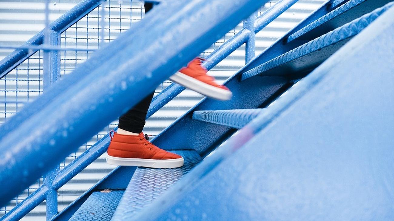 Cómo usar las escaleras para ponerse en forma