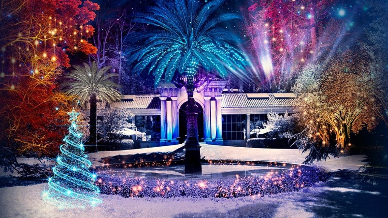 El Jardín Botánico presumirá de iluminación esta Navidad