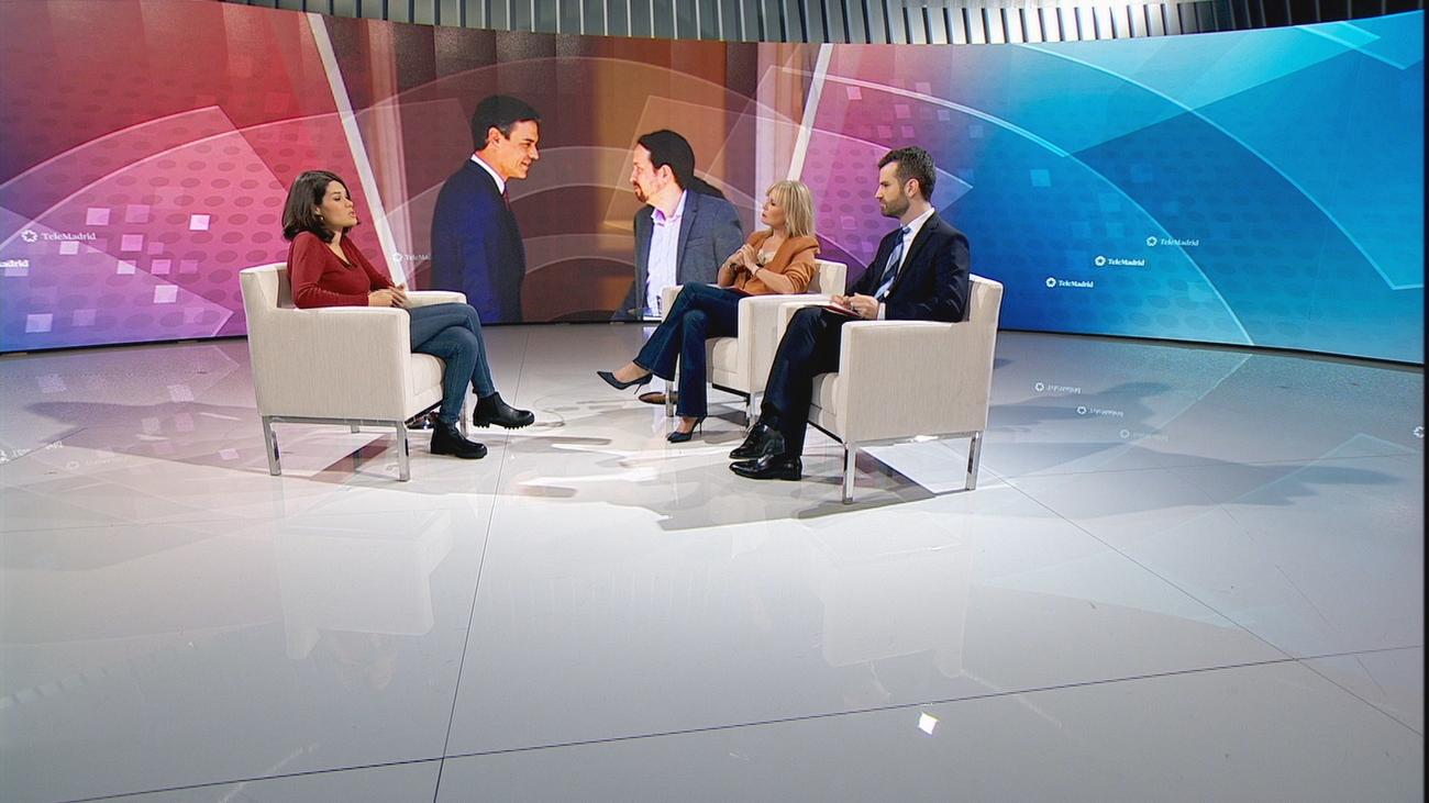 """Isa Serra: """"Si Pablo Iglesias se presenta en las elecciones, no es para ponerse a un lado"""""""