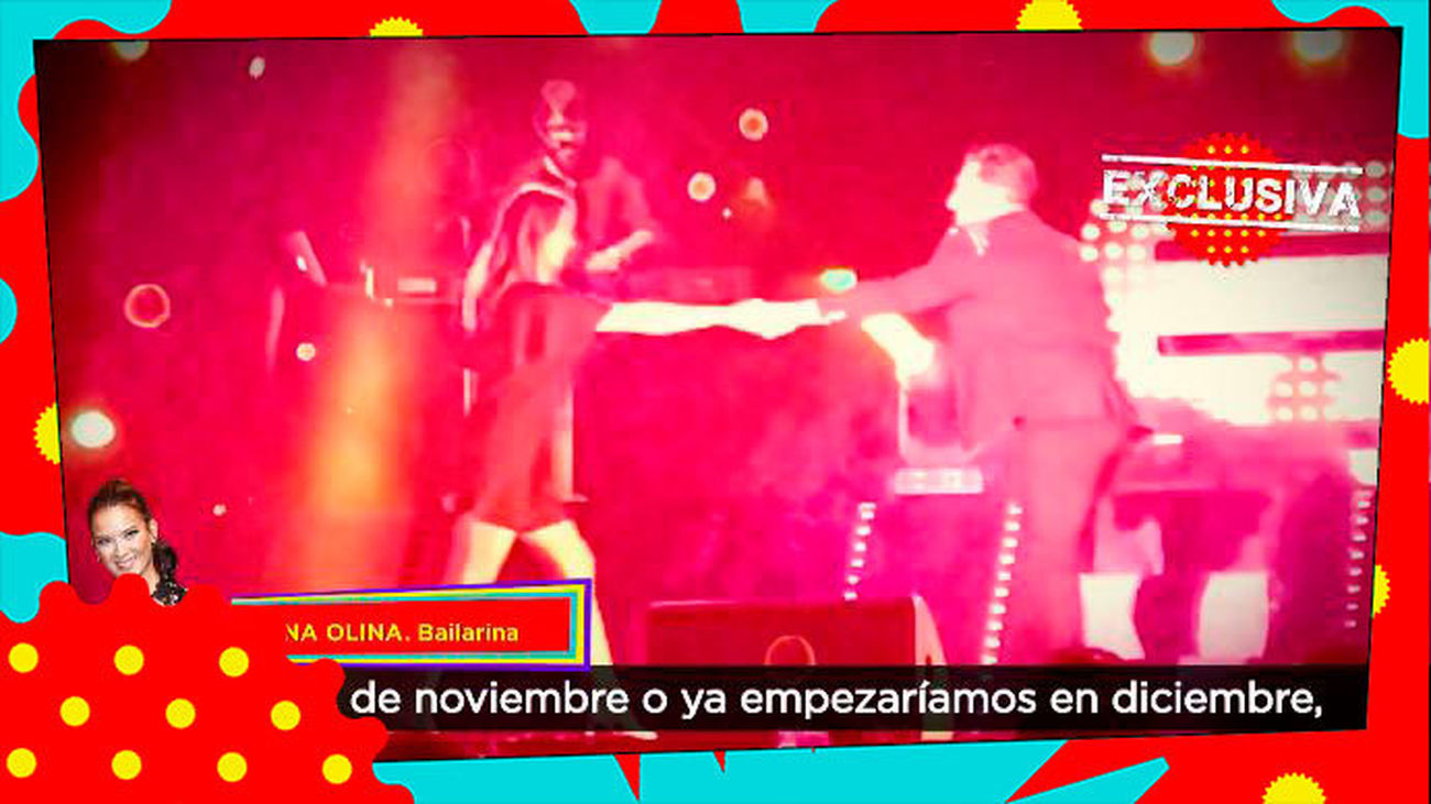 Yana Olina, la novia de David Bustamante, abre una academia de baile