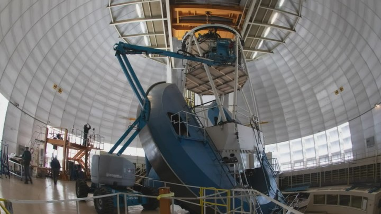 Científicos de trece países realizarán el mapa más detallado del Universo con un viejo telescopio