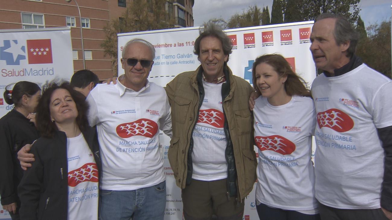 La Comunidad de Madrid celebra la I Marcha Saludable de Atención Primaria