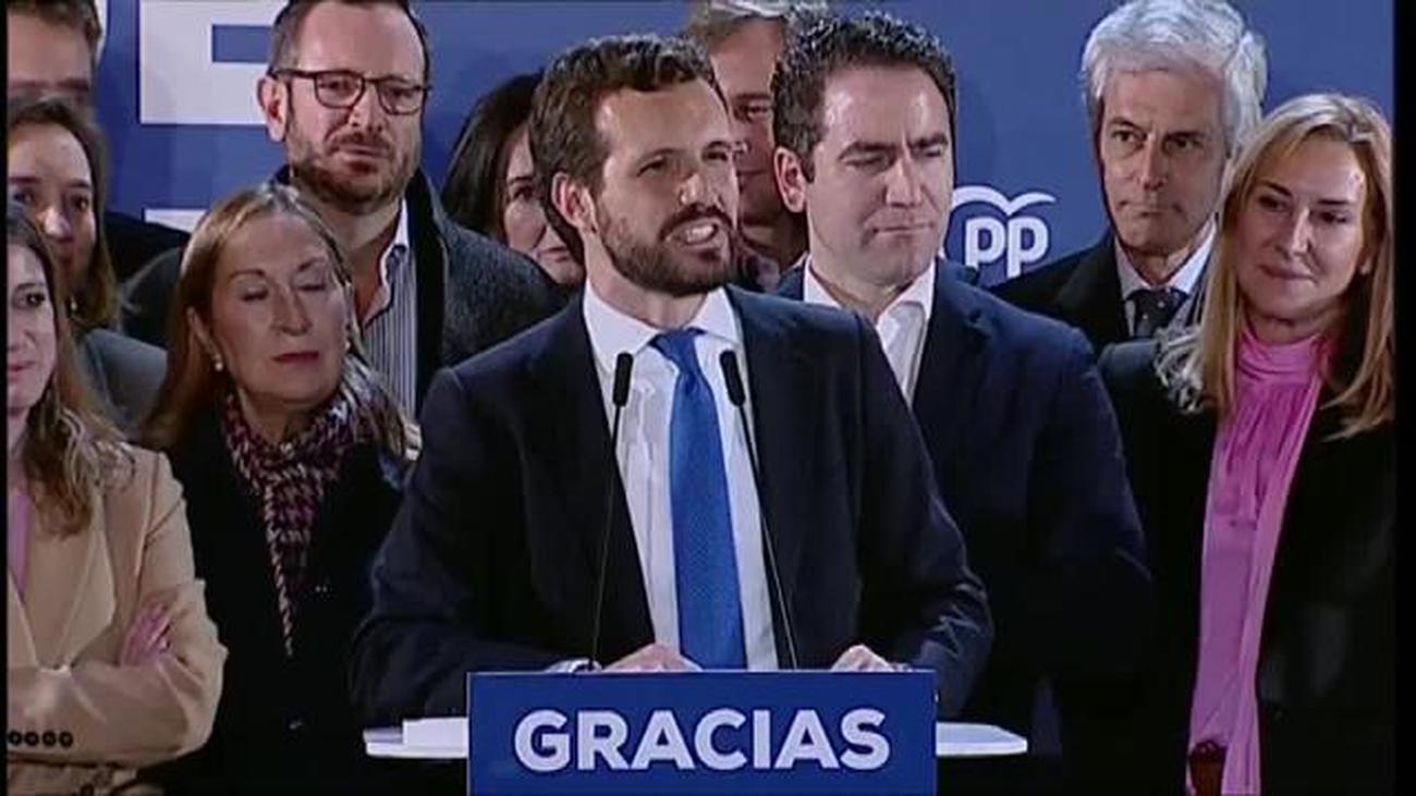"""Casado: """"Nuestro programa para los españoles es incompatible con Sánchez"""""""
