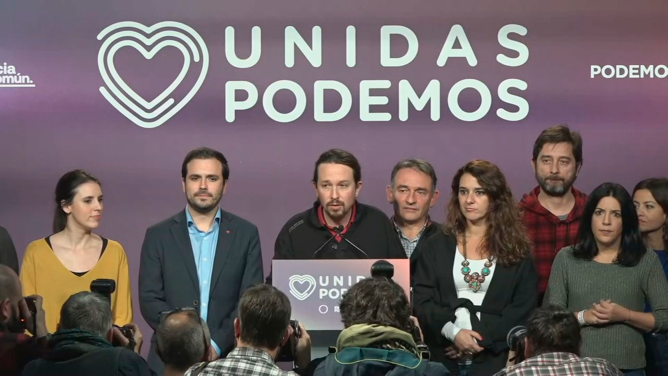 """Pablo Iglesias: """"Para lo único que han servido las elecciones es para reforzar a la derecha"""""""