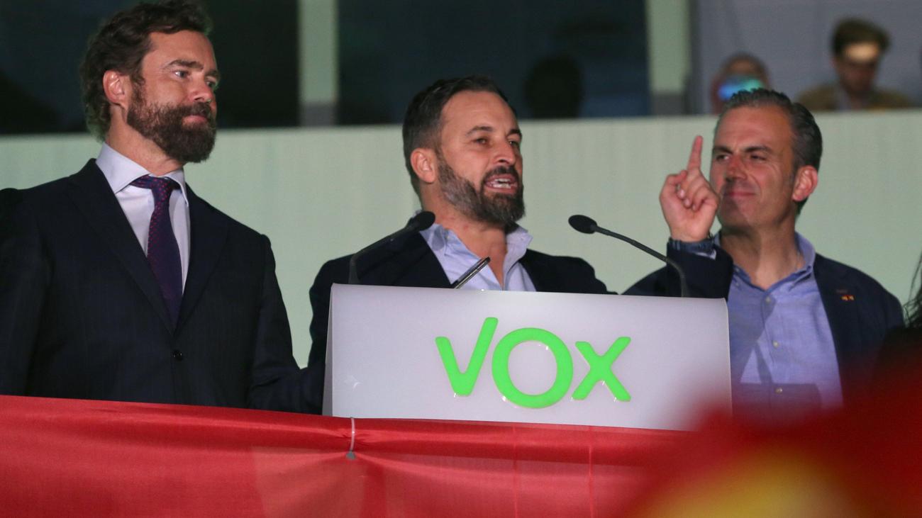 """Santiago Abascal: """"No van a frenar nuestro intento de lograr una España mejor"""""""