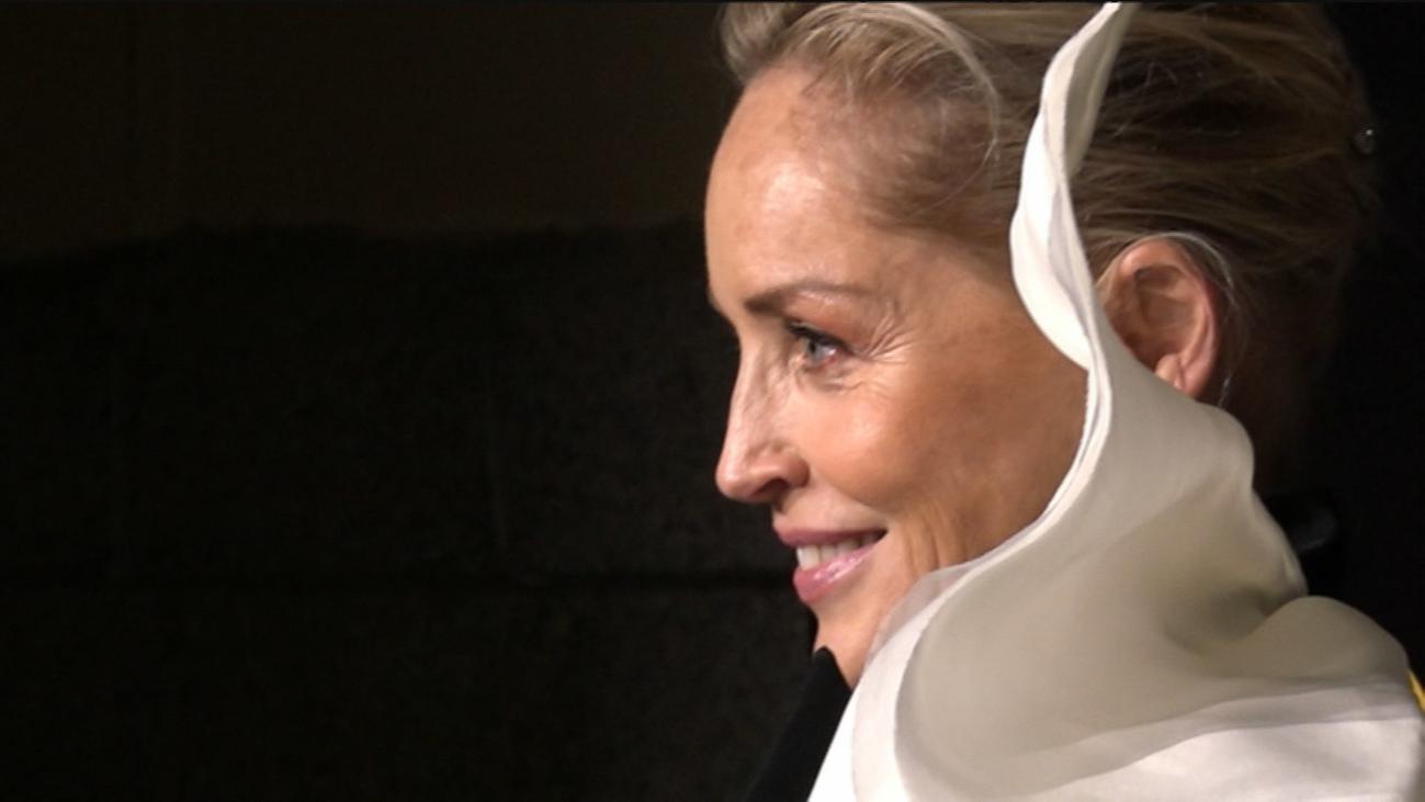 Sharon Stone, más brillante que nunca a sus 61 años